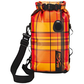 SealLine Discovery Deck Dry Bag 10l orange plaid